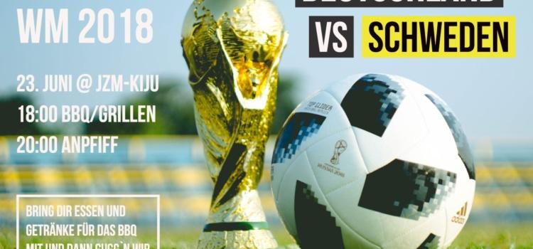 WM 2018 Deutschland vs. Schweden im JZM schauen