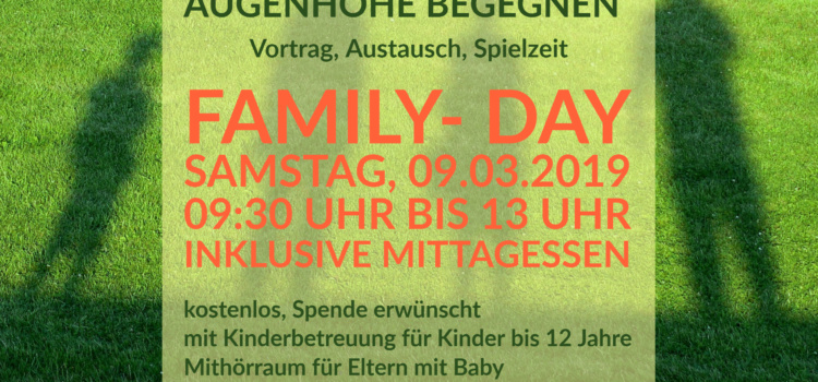 Family- Day am 09.03.2019