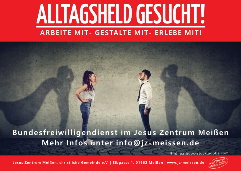 Flyer Bundesfreiwilligendienst im JZM 2020