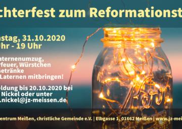 Flyer Lichterfest 2020