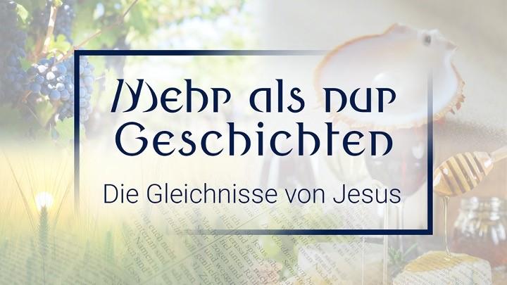 Flyer Predigtreihe Mehr als nur Geschichten