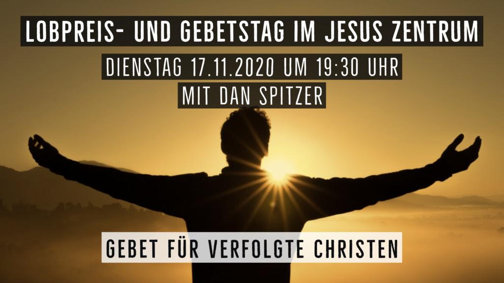 Flyer Lobpreis- und Gebetstag 17.11.2020