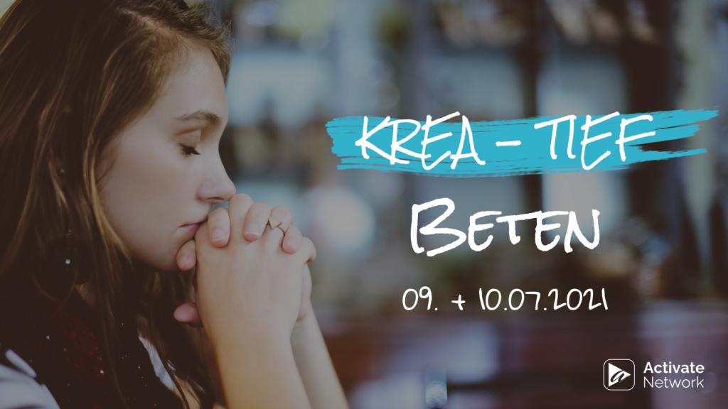 Flyer Activate Connect Kre-tief beten